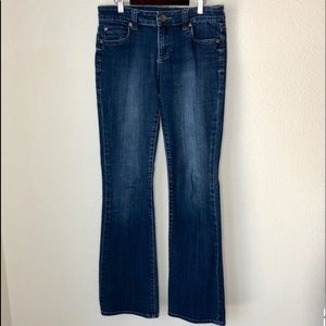 Kut from the Kloth boot cut jeans. Size 4